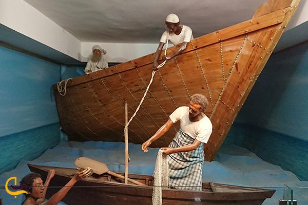 نشان دادن فرهنگ و سبک زندگی مردم بندرعباس در موزه مردم شناسی خلیج فارس
