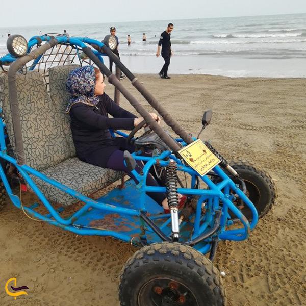 تفریحات پارک ساحلی غدیر در بندرعباس