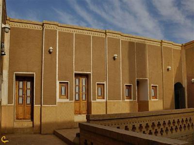 نمای داخلی مسجد جامع جندق خور و بیابانک
