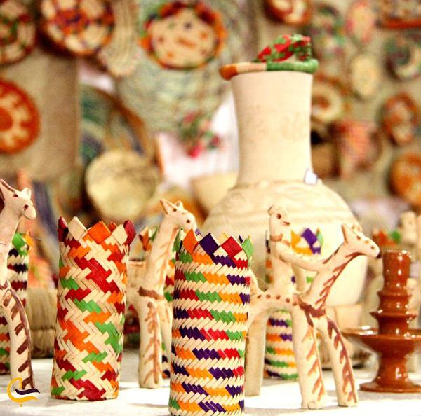صنایع دستی جزیره لاوان در بازار سنتی