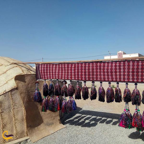 دکوراسیون و طراحی بومی محلی اقامتگاه سراوان سیستان بلوچستان