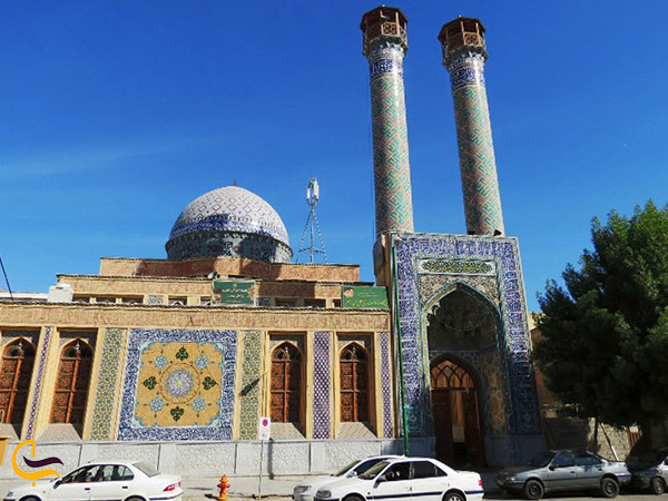 نمای کلی مسجد ناصری در بندرعباس