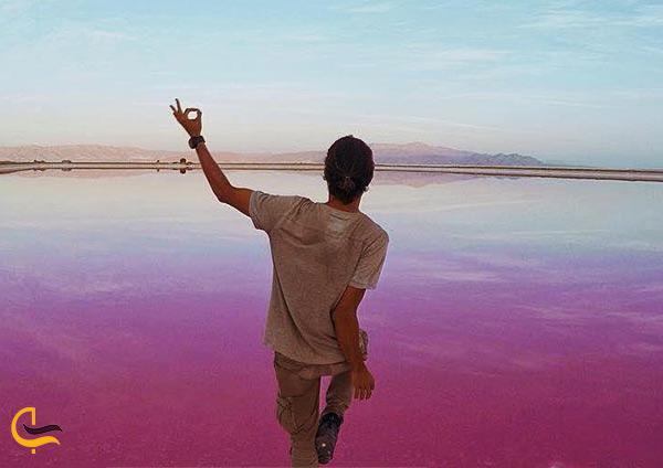 عکاسی در کنار دریاچه رویایی ایران