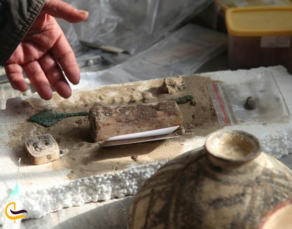 شهر علم باستان بر اساس وسایل و لوازم پزشکی پیدا شده