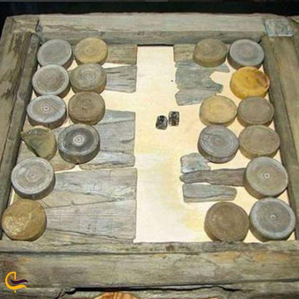 اولین تخته نرد های کشف شده در شهر سوخته