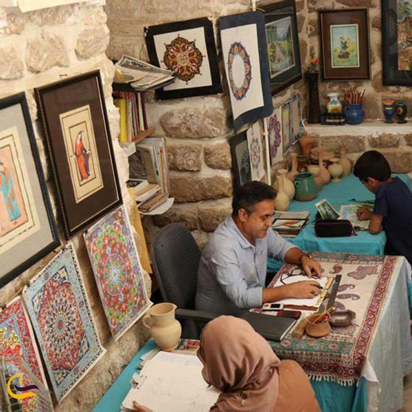 کاروانسرای افضل مرکز هنر شهر شوشتر