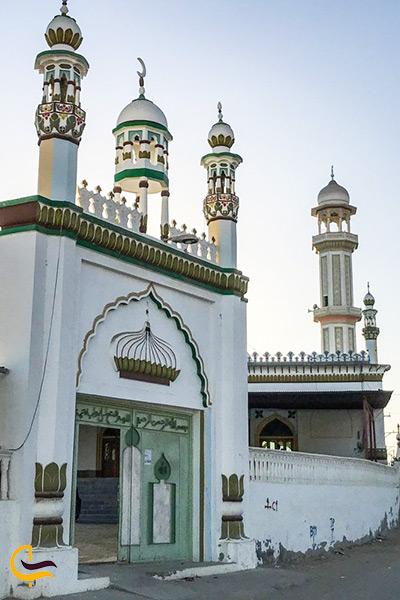 نمای دیگری از بنای مسجد جامع تیس