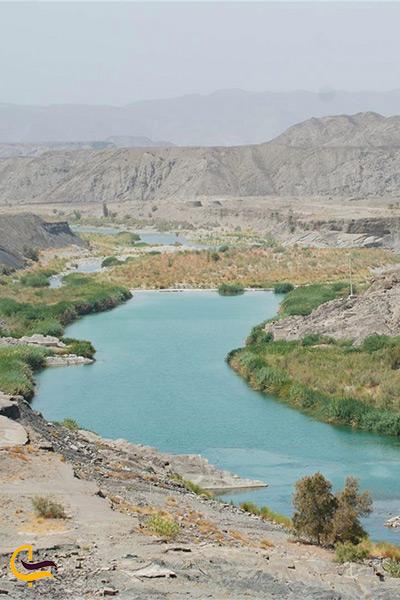 رودخانه باهوکلات در چابهار