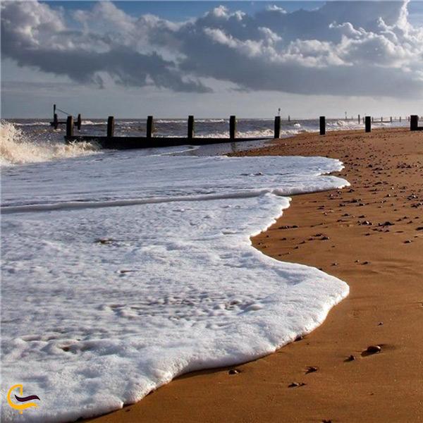 ساحل زیبای بندر گز