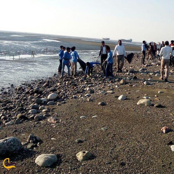 سواحل زیبای شهرستان میناب
