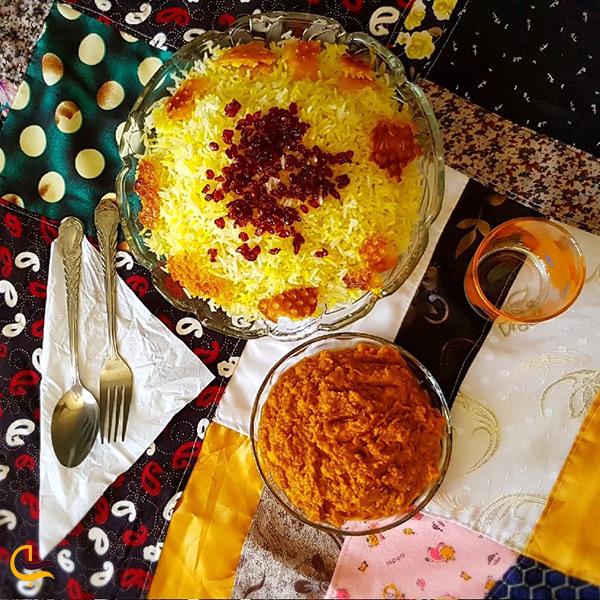 شکر پلو بوشهری غذای خوشمزه شهر برازجان
