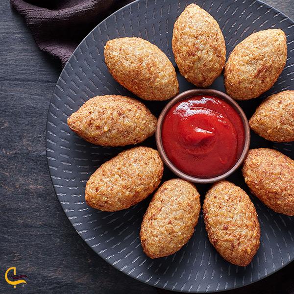 کبه غذای بوشهری خوشمزه