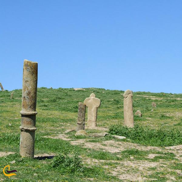 تخریب و فرسایش قبرستان خالد نبی در طول زمان
