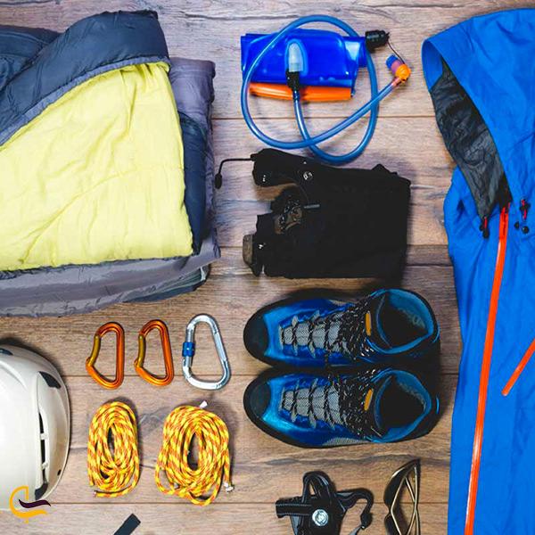 وسایل مورد نیاز کوهنوردی در قله تفتان
