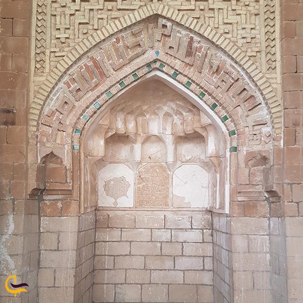 تصویر محراب مسجد جامع شوشتر