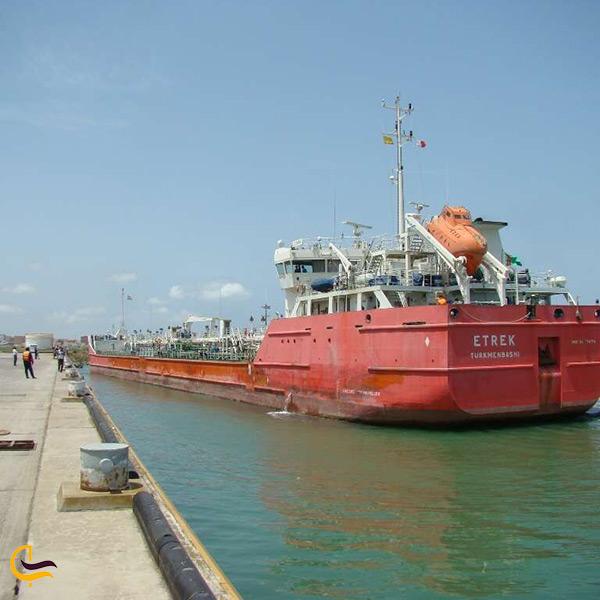 حمل و نقل دریایی در بندر فریدونکنار