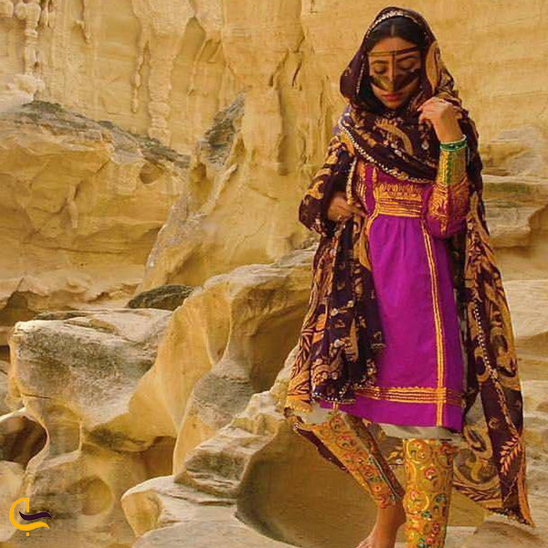 لباس های محلی و بومی میناب