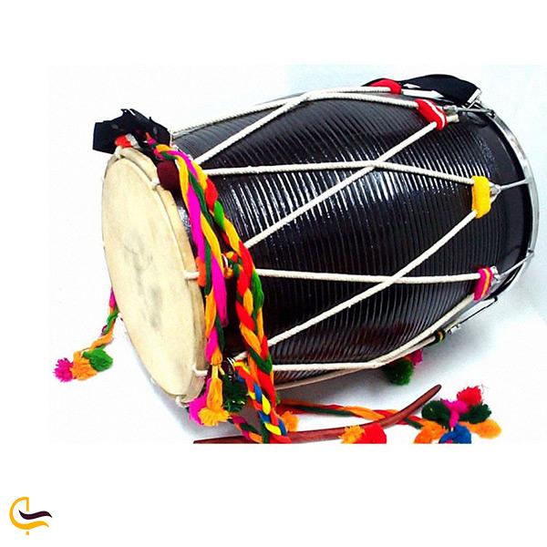 دهل ساز موسیقی محلی میناب