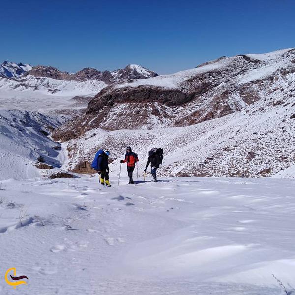 شرایط کوهنوردی در تفتان