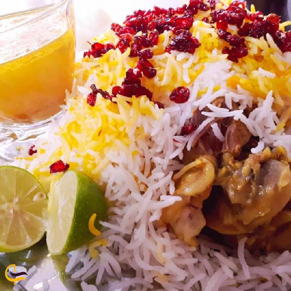 زیربرنجی گوشت غذای مخصوص شهر شوش
