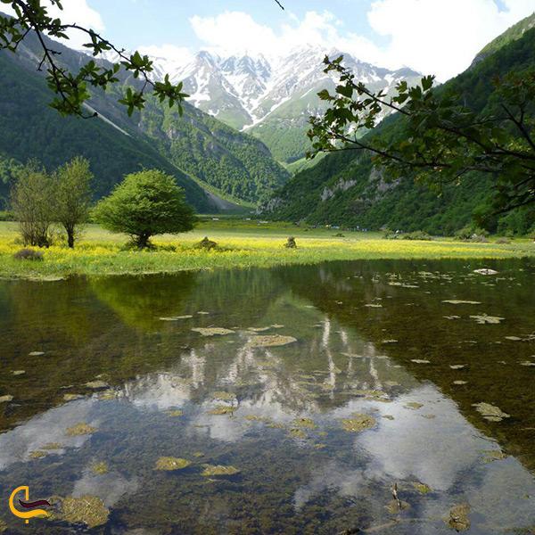 دریاچه دریاسر دیدنی و سرسبز
