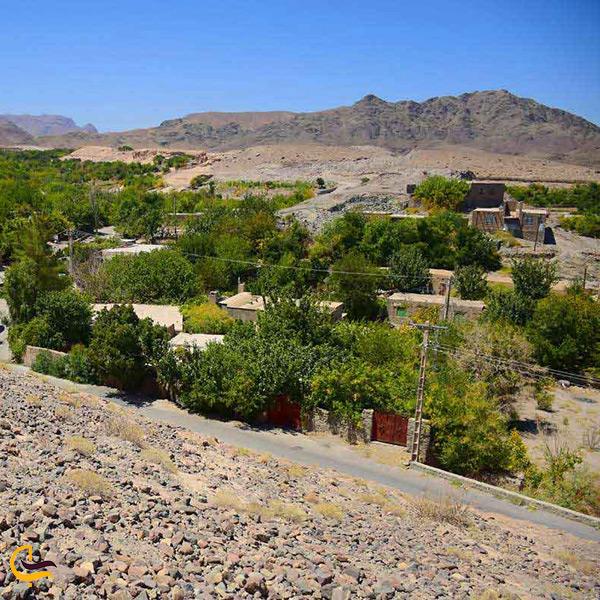 روستای تمین نگینی سبز در دل شهر زیبای زاهدان