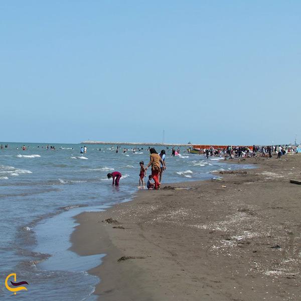 ساحل زیبای بندر فریدونکنار
