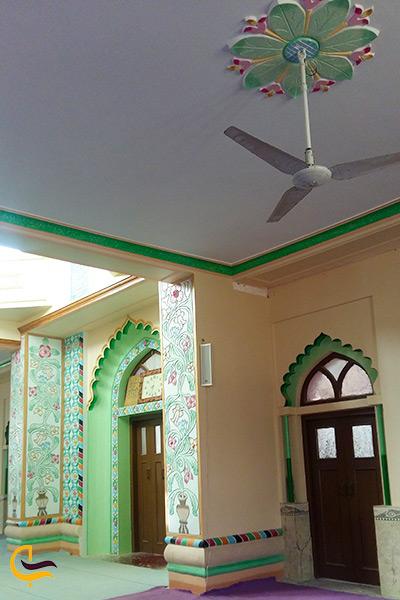 نمایش امکانات رفاهی مسجد جامع تیس چابهار