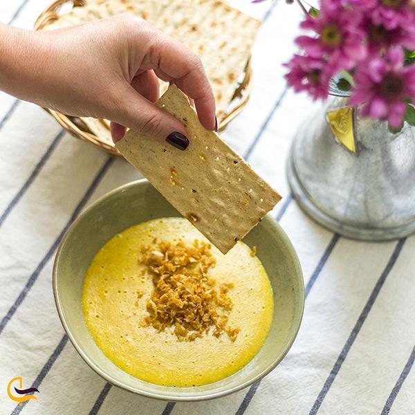 کشک زرد غذای مقوی و بومی شهر زاهدان