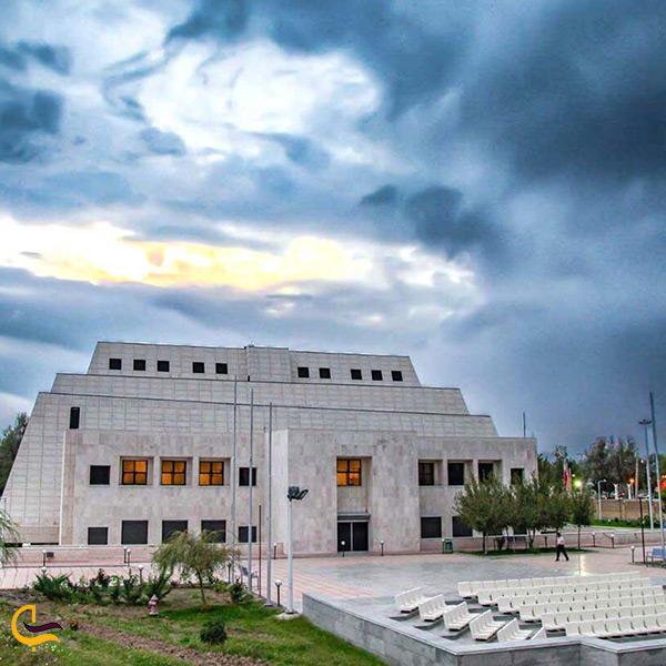 بنای موزه زاهدان
