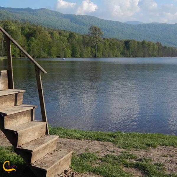 دریاچه الندان ساری