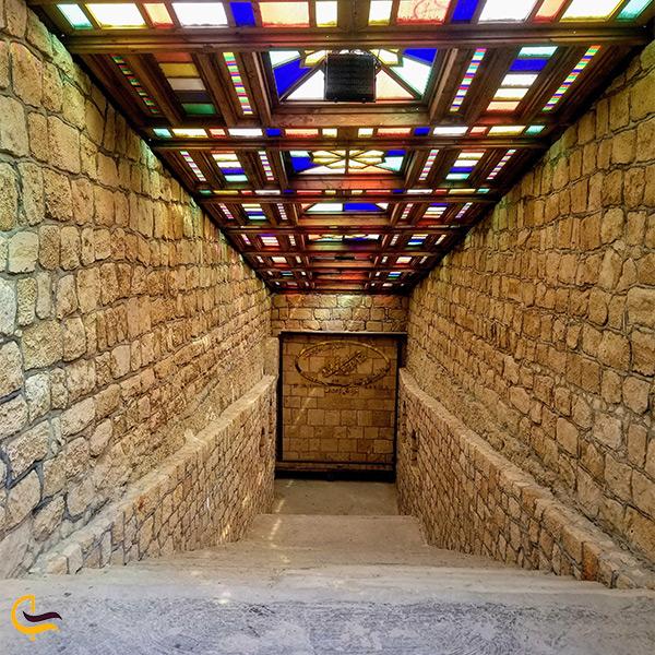 نمایی دیگر از شهر زیرزمینی کاریز