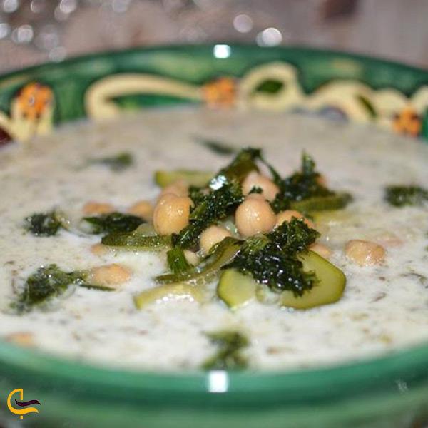 آش الوک غذای محلی شهرستان جهرم