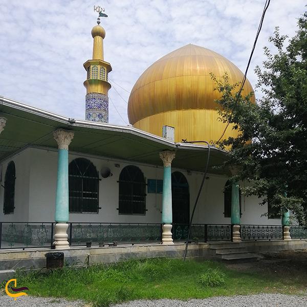 آستان امامزاده فضل خشت سر در محمودآباد