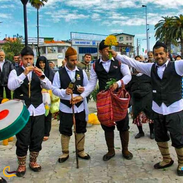 لباس محلی مردان بابلسر