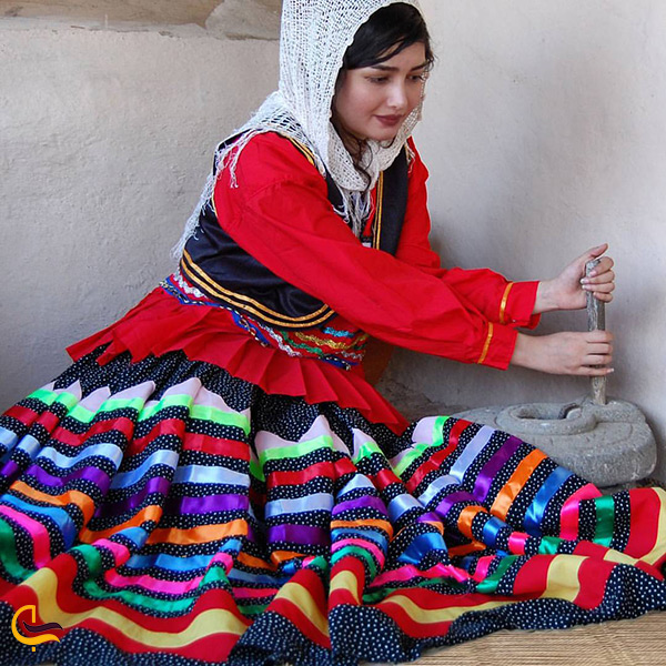 لباس محلی زنان بابلسر