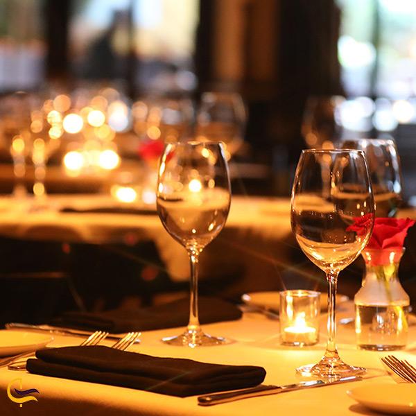 فضای زیبای رستوران لئوناردو دبی