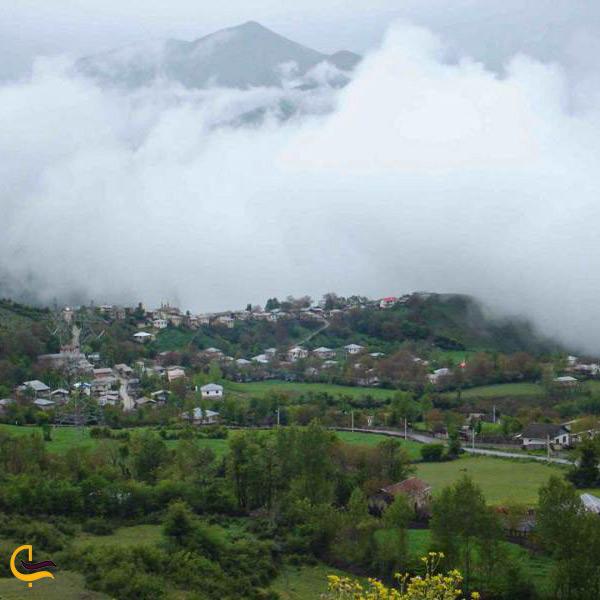 تصویر زیبای روستای حیرت نوشهر