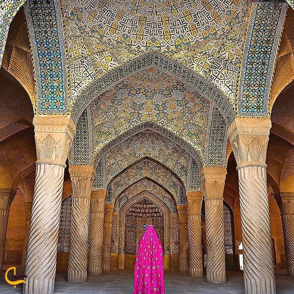 تصویر زیبا در بازار وکیل شیراز