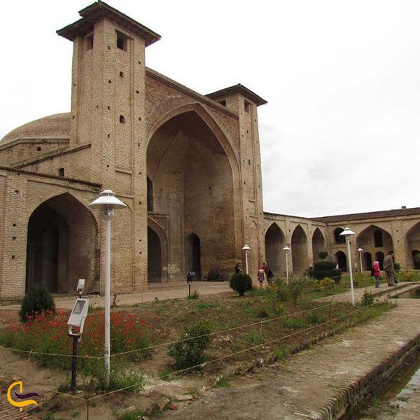 تصویر زیبای مسجد جامع عباسی در ساری