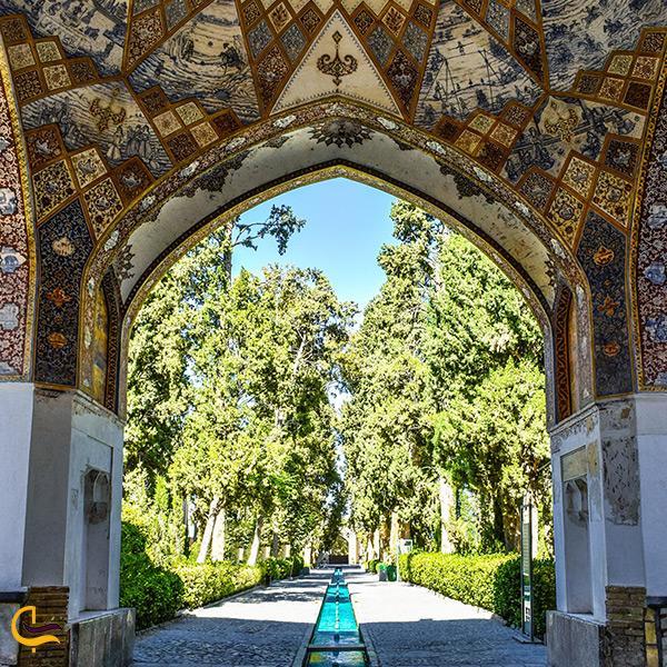 تصویر زیبای باغ فین کاشان