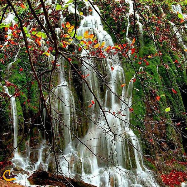 تصویر زیبا آبشار اوربن ساری