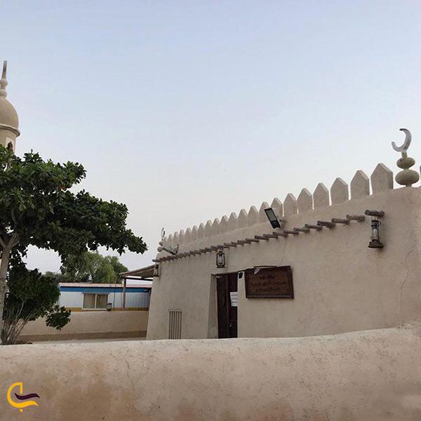 تصویر زیبا از مسجد روستای باغو در کیش