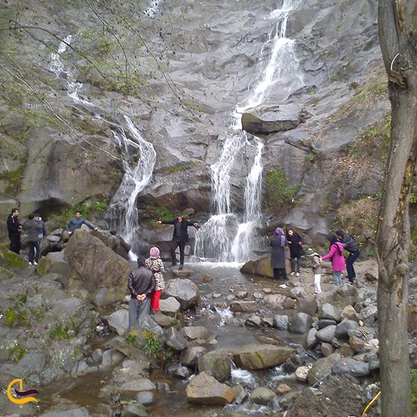 آبشار های زیبا از جاهای دیدنی اطراف رامسر