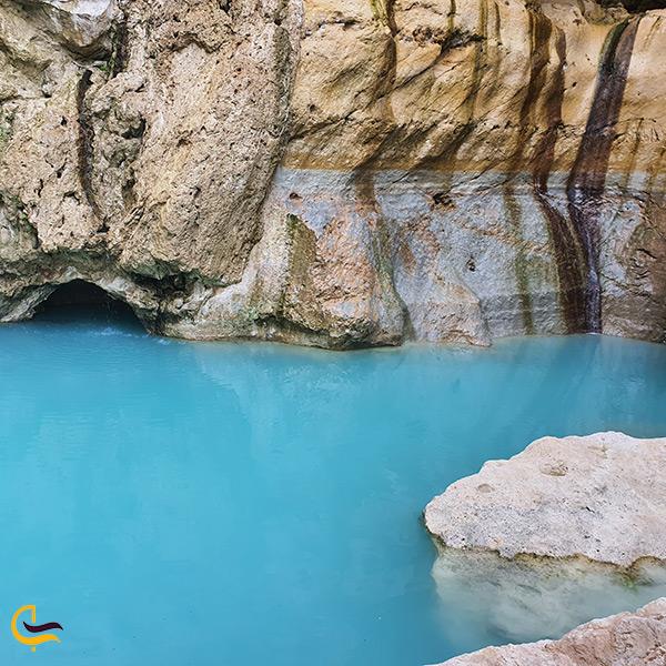 چشمه و آبشار بوچیر زیبایی انکار نکردنی در دل کویر هرمزگان