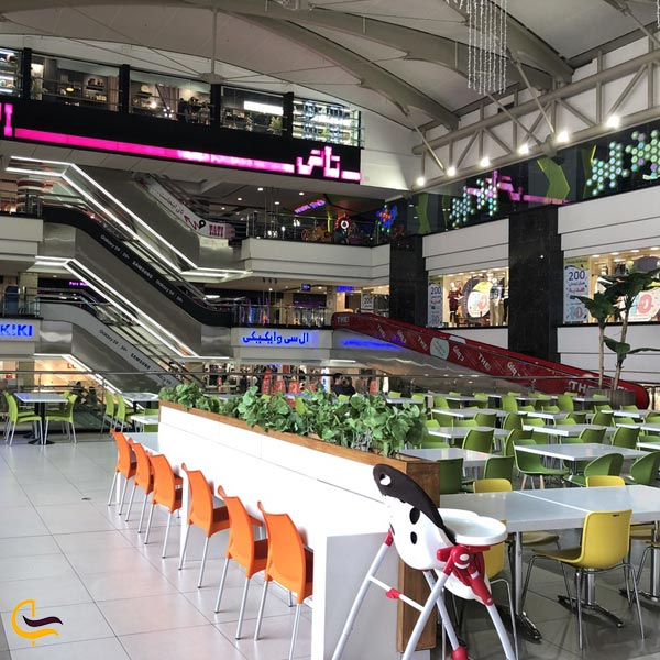 تصویری از کافه رستوران مرکز خرید پالادیوم تهران