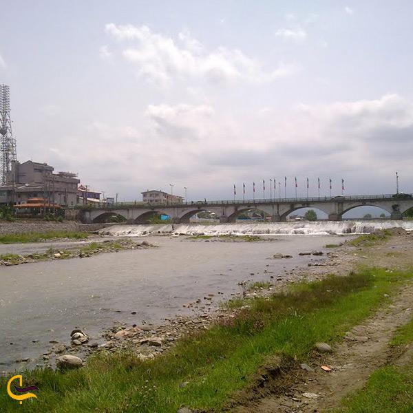 پل چشمه کیله جاذبه تاریخی شهر تنکابن