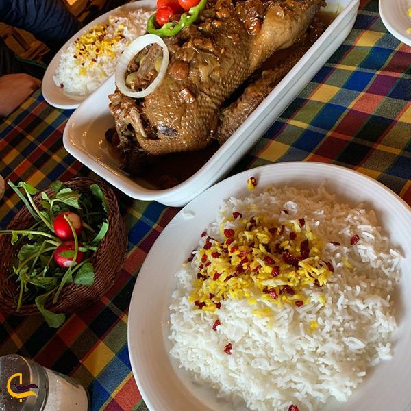 منو خوشمزه رستوران چاشت در محمودآباد