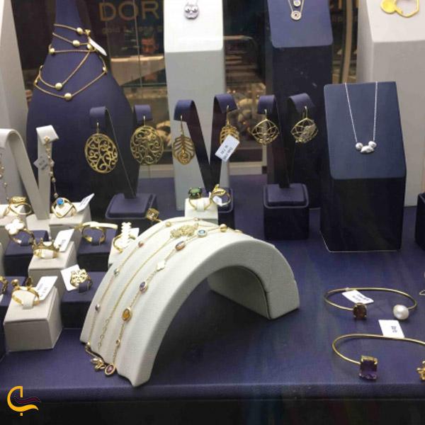 تصویری از مغازه طلا و جواهرات پاساژ پلادیوم تهران