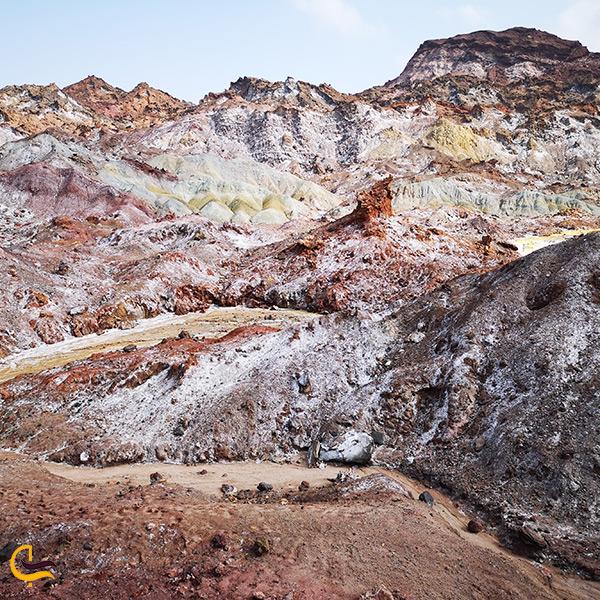 نکات مهم سفر به جزیره هرمز و بازدید از دره رنگین کمان